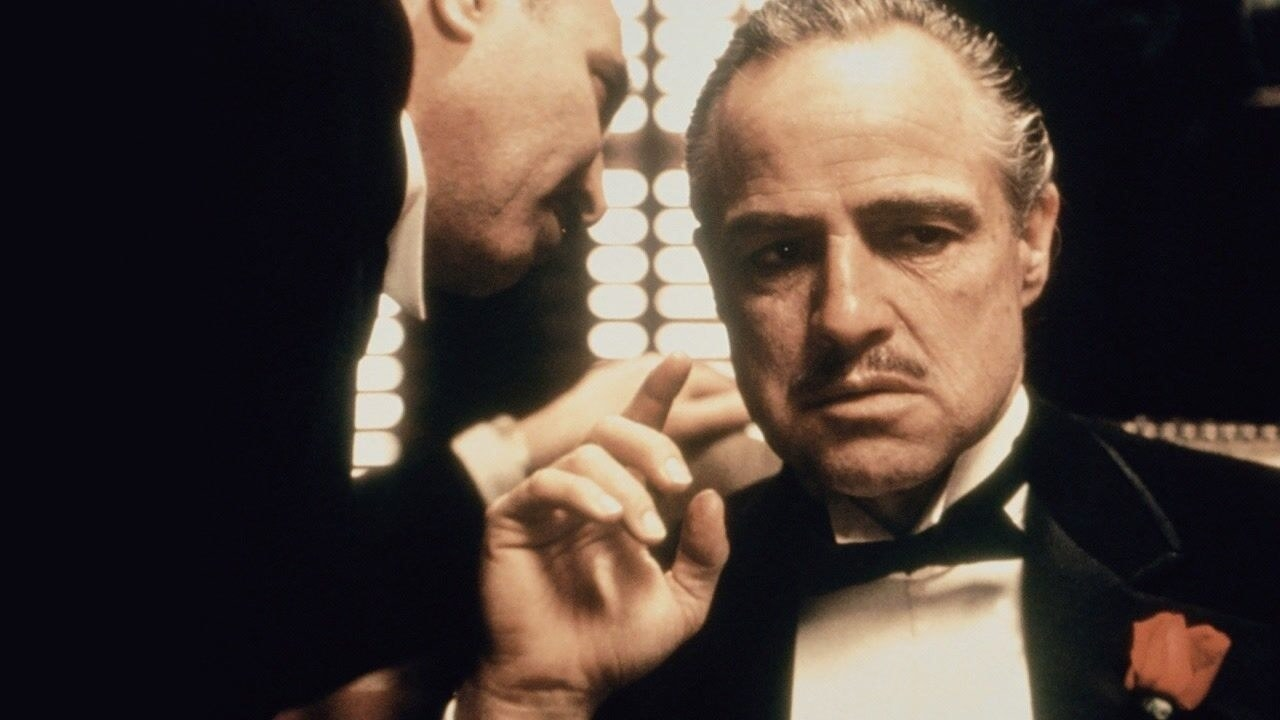 A scene from The Godfather
