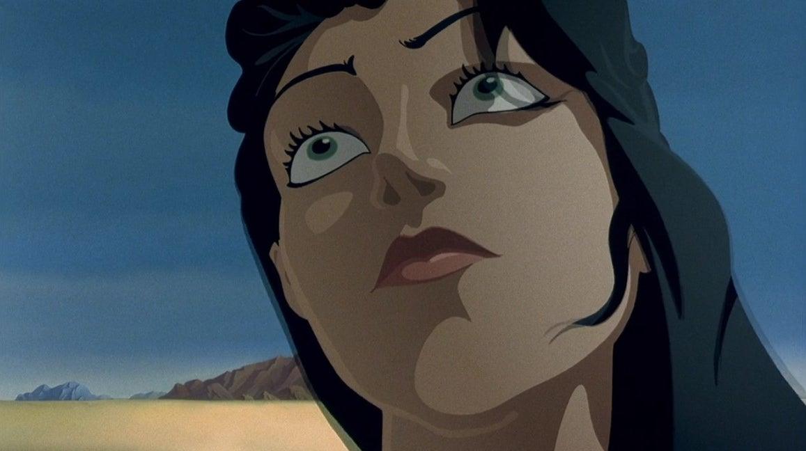 Dahlia stares off into space