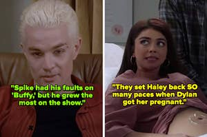 """Spike from """"Buffy the Vampire Slayer;"""" Haley Dunphy from """"Modern Family"""""""