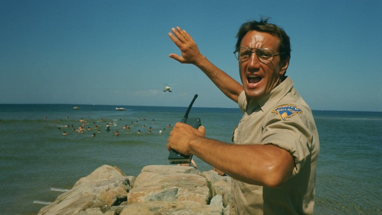 A scene from Jaws