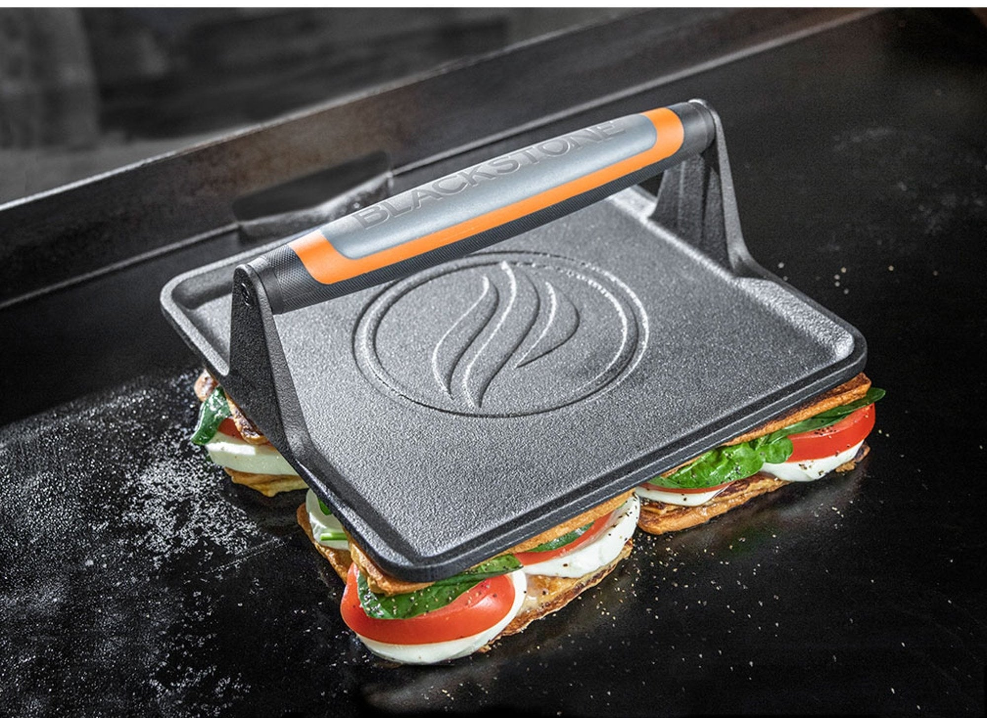 the griddle press