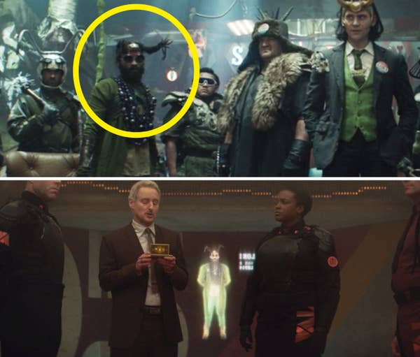 A Loki Variant vs. his hologram