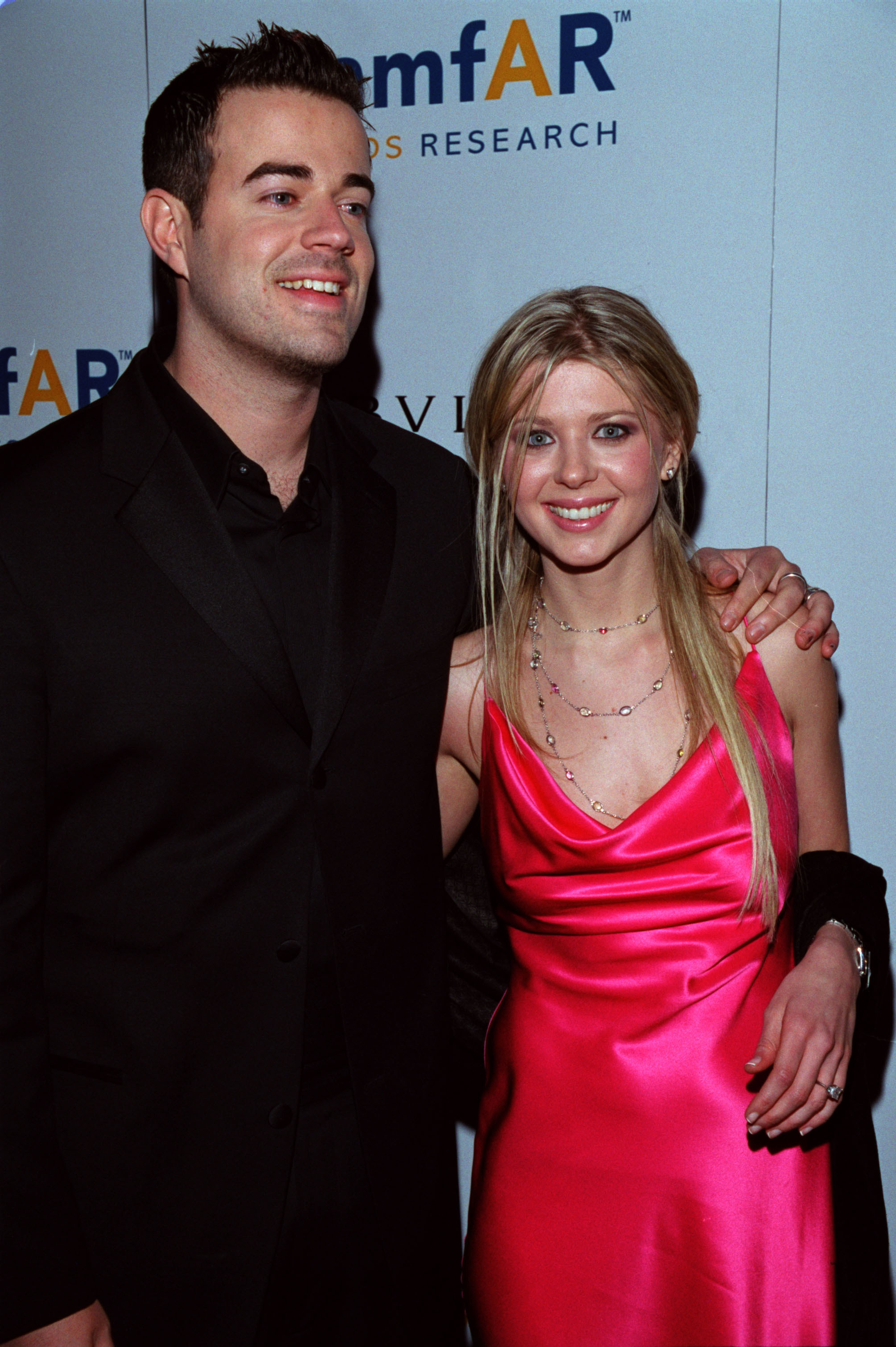 Carson Daly and Tara Reid at an event together