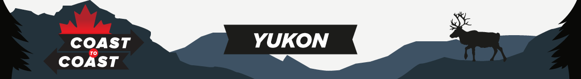 a banner that says coast to coast and yukon
