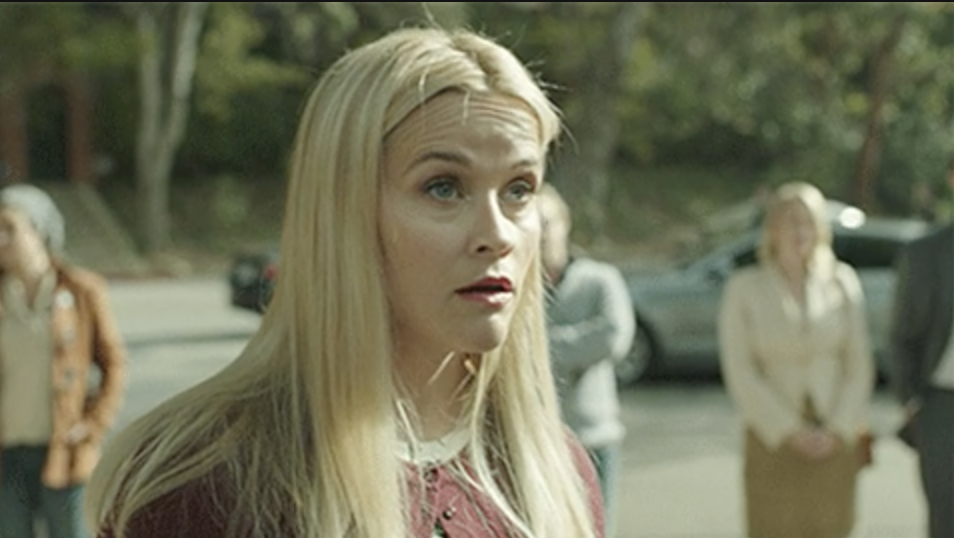 Reese Witherspoon in Big Little Lies looking flabbergasted