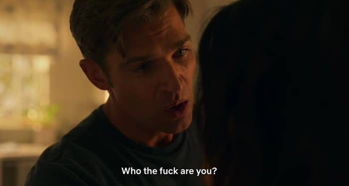 """Cooper says, """"Who the fuck are you,"""" to Billie"""