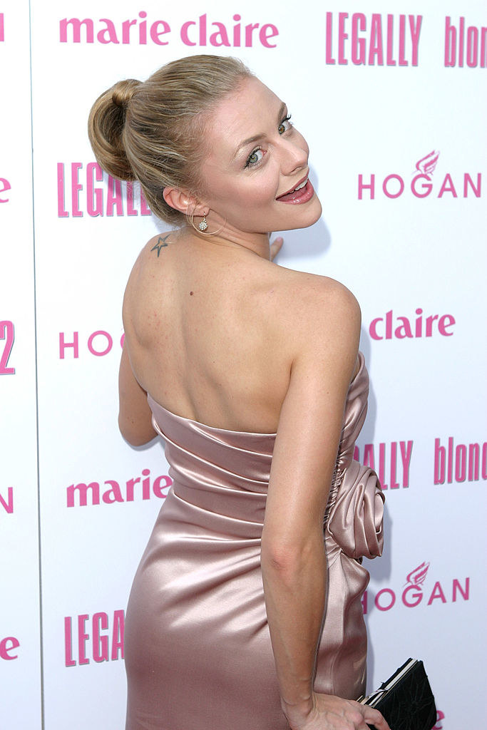 Jessica Cauffiel during Legally Blonde 2 Red, White & Blonde - Special Screening