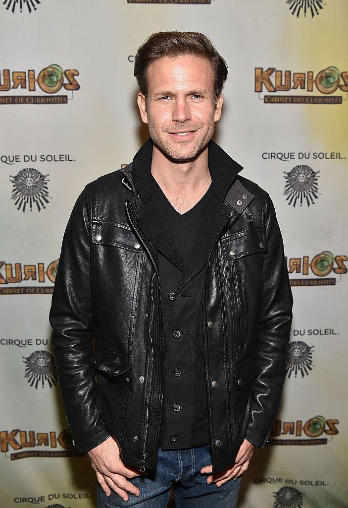 Matt Davis attends the Atlanta premiere of Cirque du Soleil's KURIOS - Cabinet of Curiosities