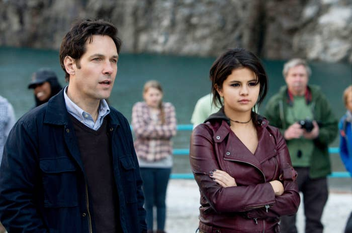 """Paul Rudd and Selena Gomez in """"The Fundamentals of Caring"""""""