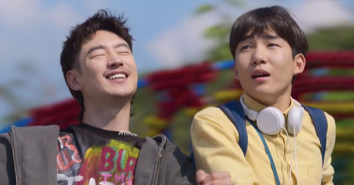 """Lee Je-hoon and Tang Joon-sang in """"Move to Heaven"""""""