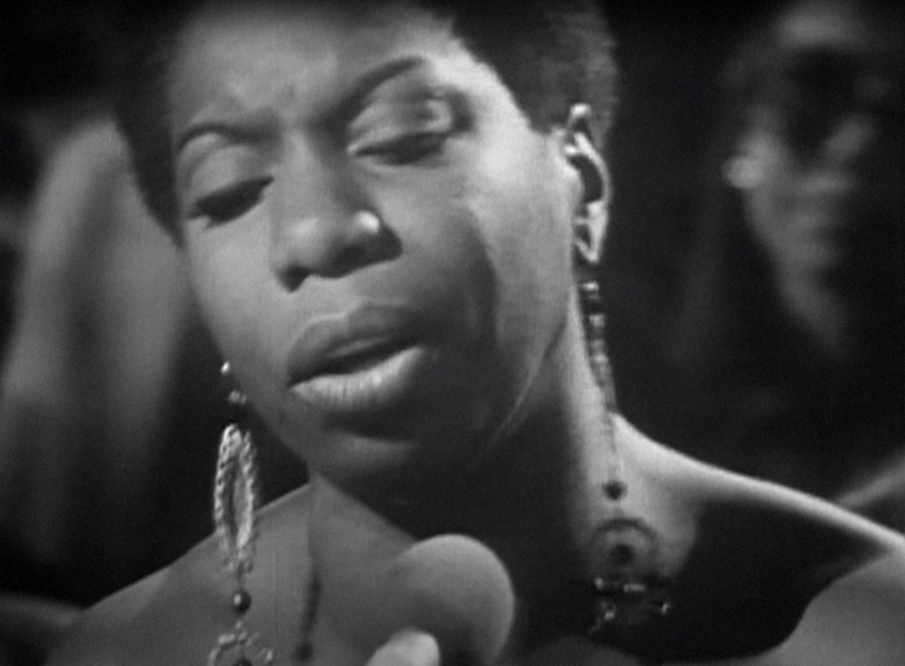 "Nina Simone in ""What Happened, Miss Simone?"""