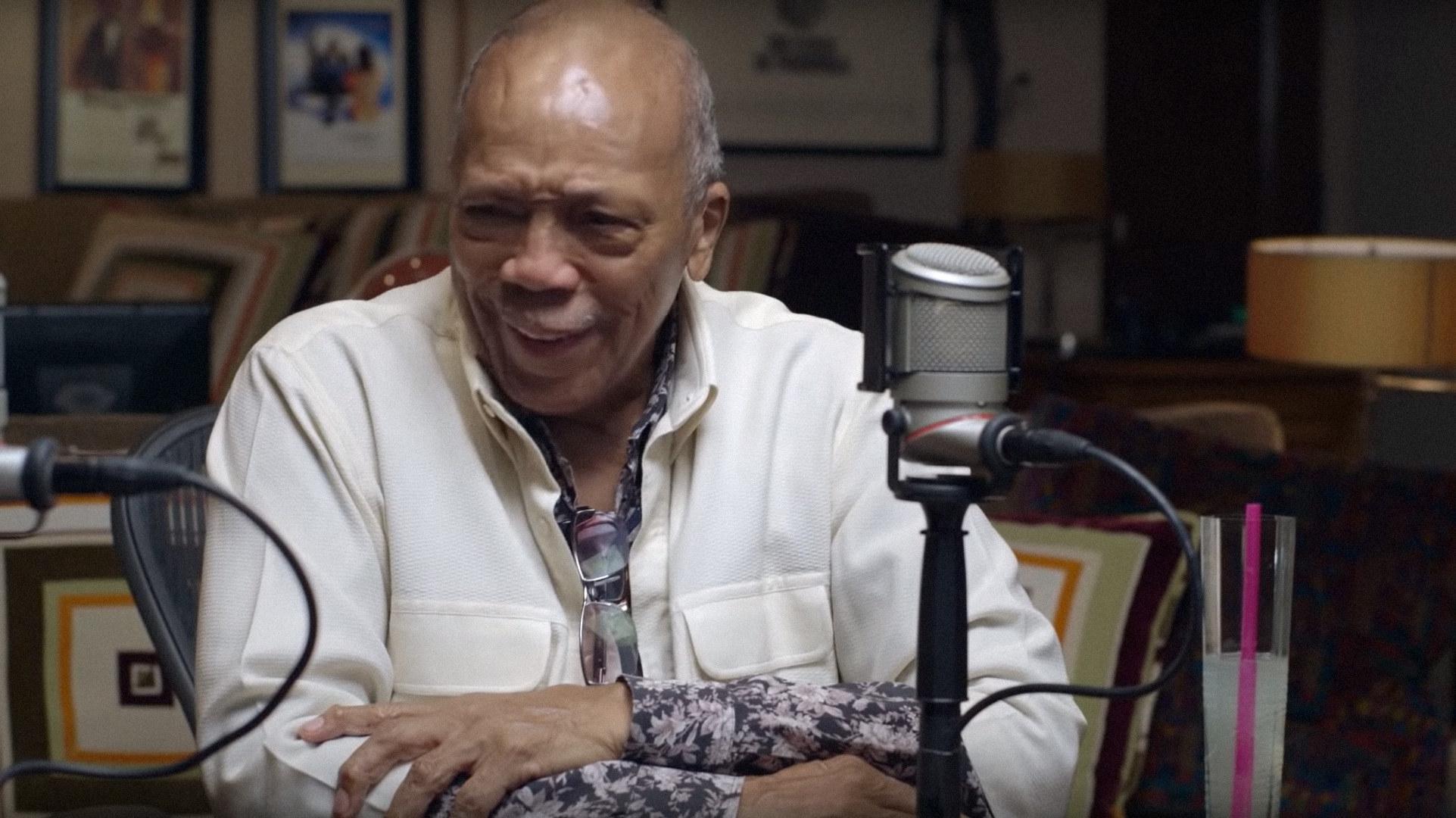 """Quincy Jones in """"Quincy"""""""