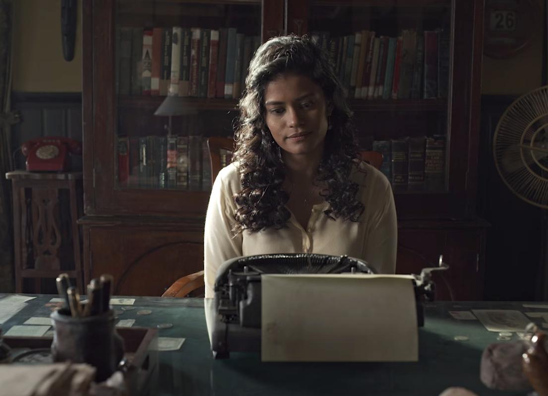 """Palomi Ghosh in """"Typewriter"""""""
