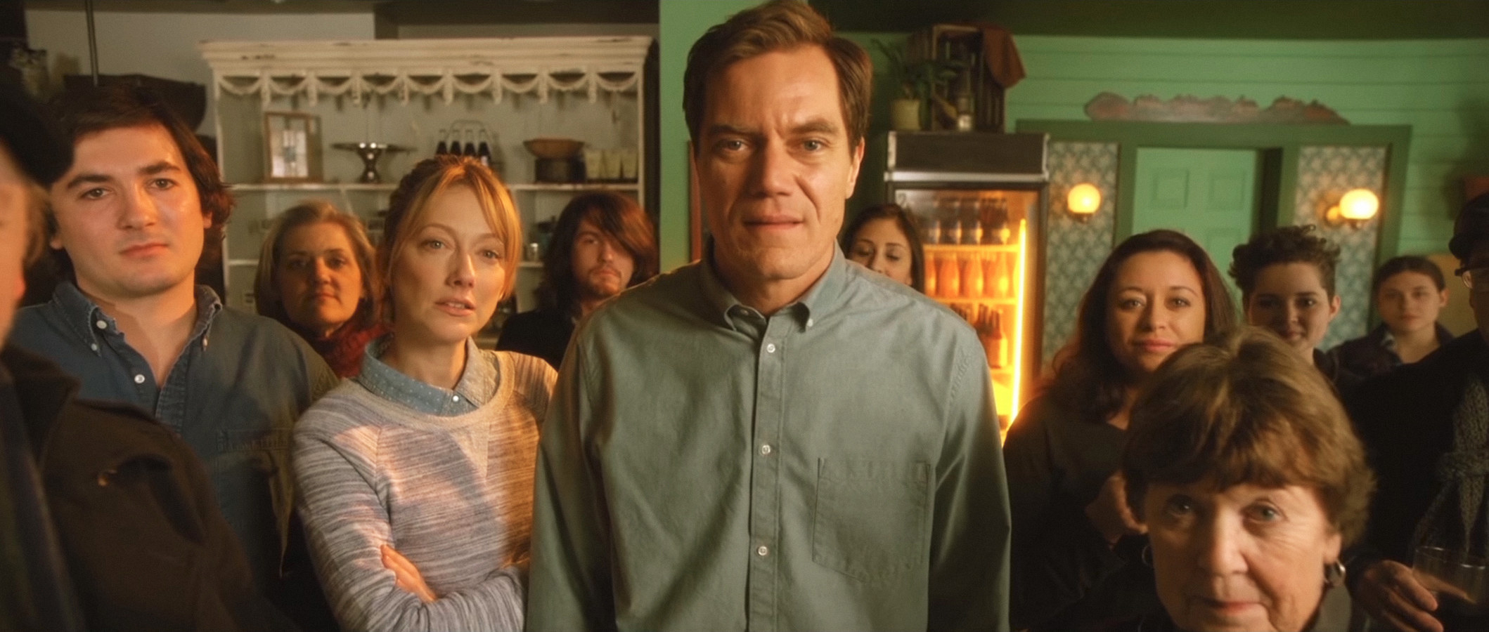 """Judy Greer and Michael Shannon in """"Pottersville"""""""