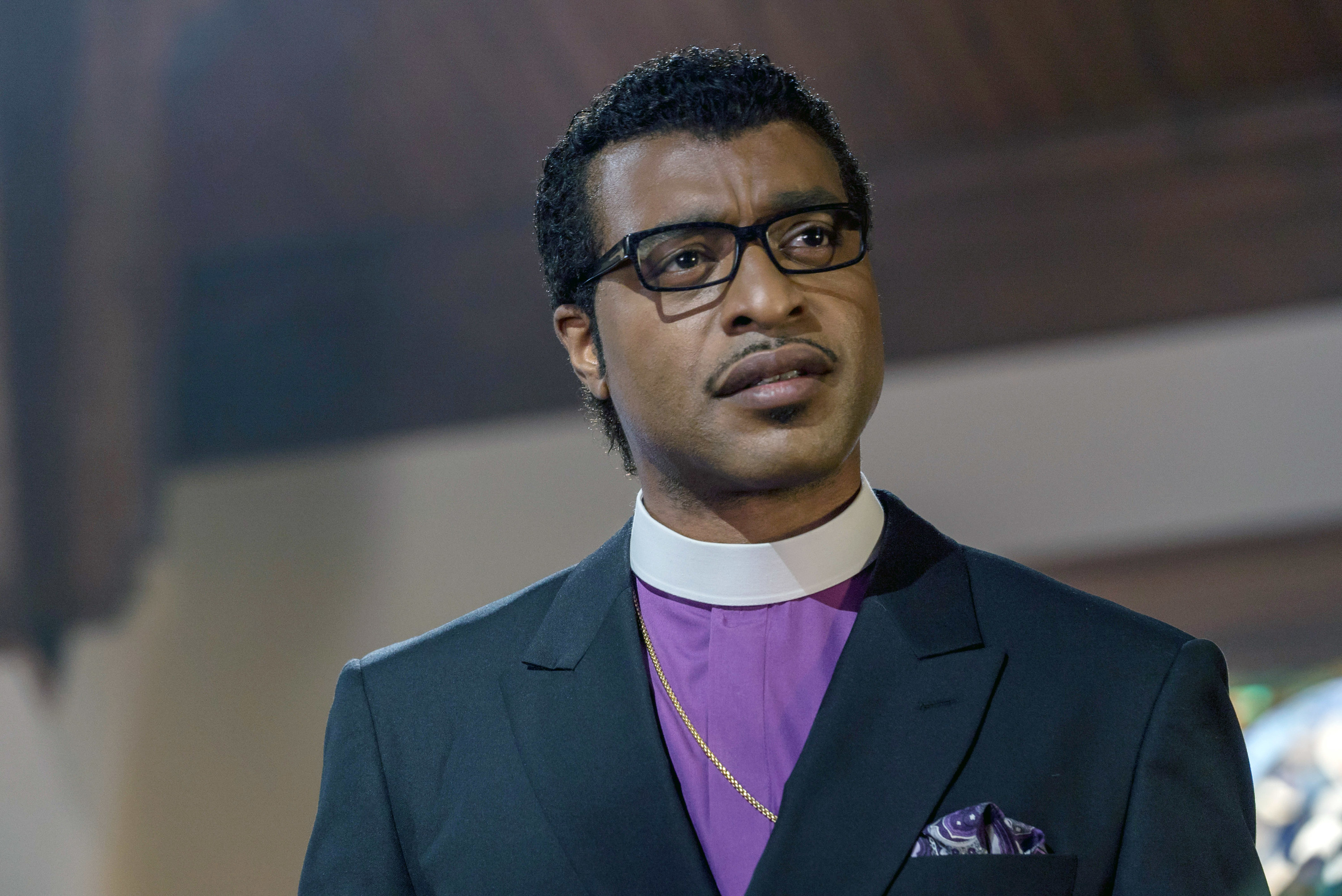 """Chiwetel Ejiofor in """"Come Sunday"""""""