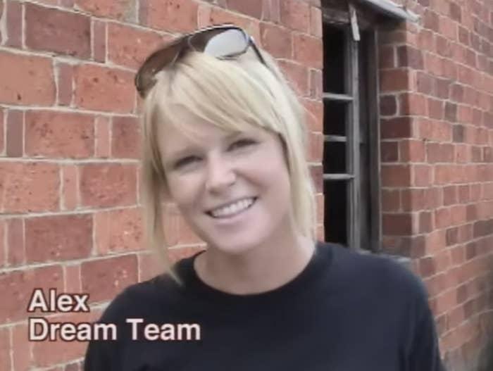 Alex, a member of the Dream Team
