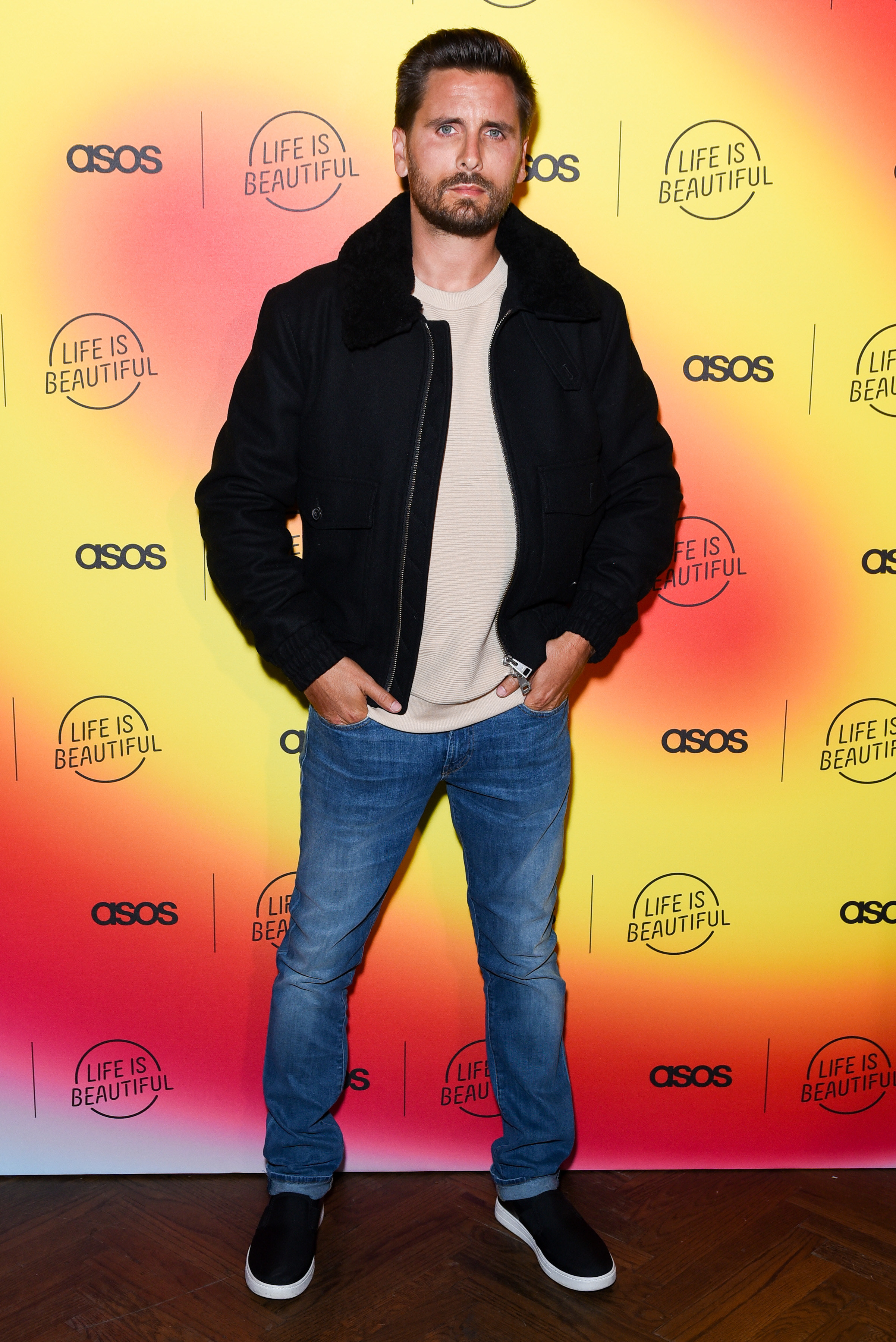 Scott Disick attends ASOS celebrates partnership with Life Is Beautiful at No Name on April 25, 2019 in Los Angeles, California