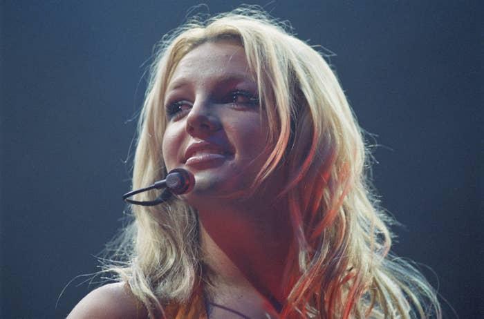 Britney Spears performs onstage