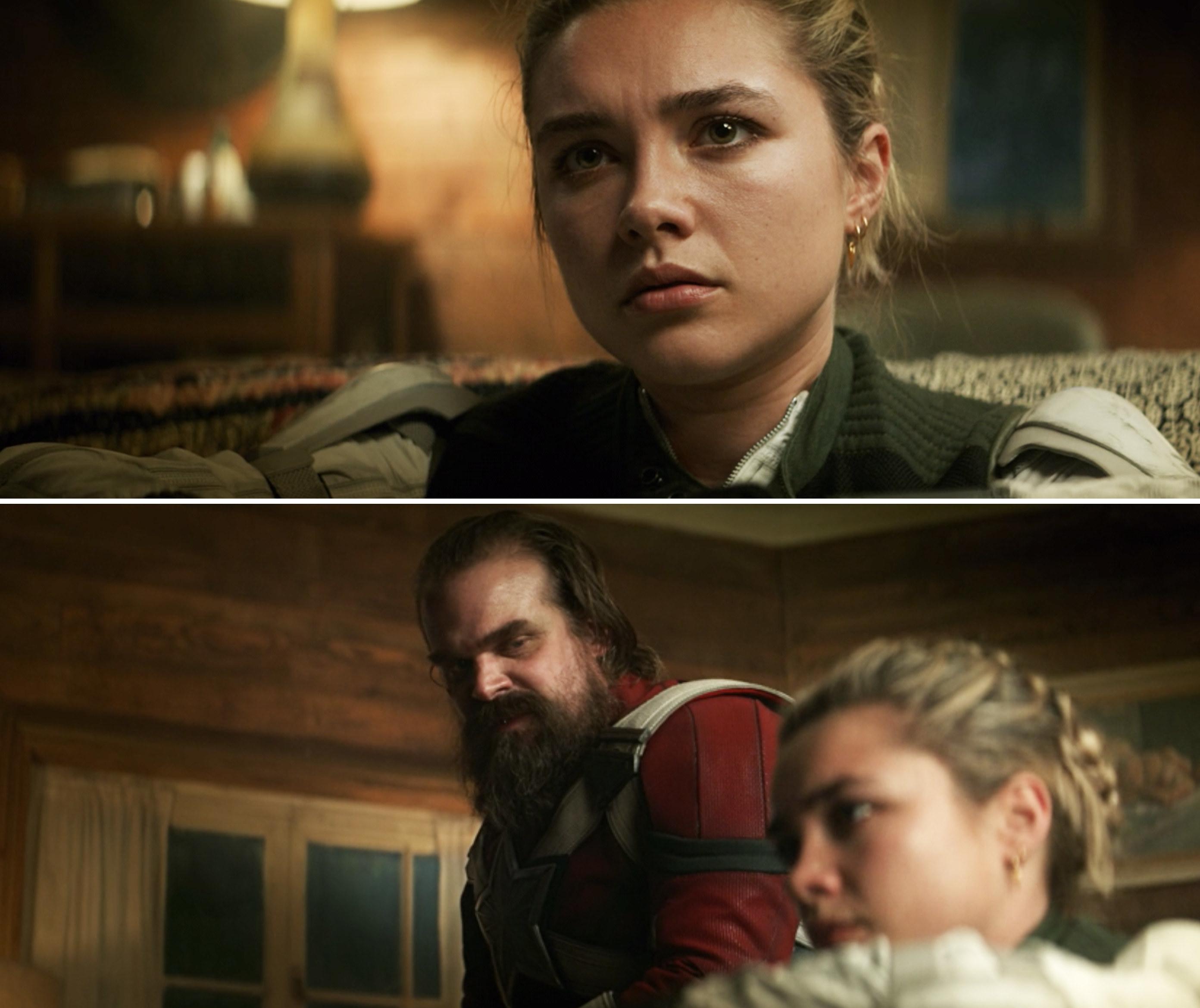 Yelena and Alexei talking