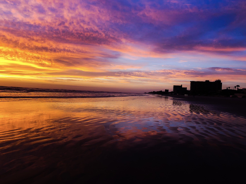 Photo of sunset at New Smyrna Beach