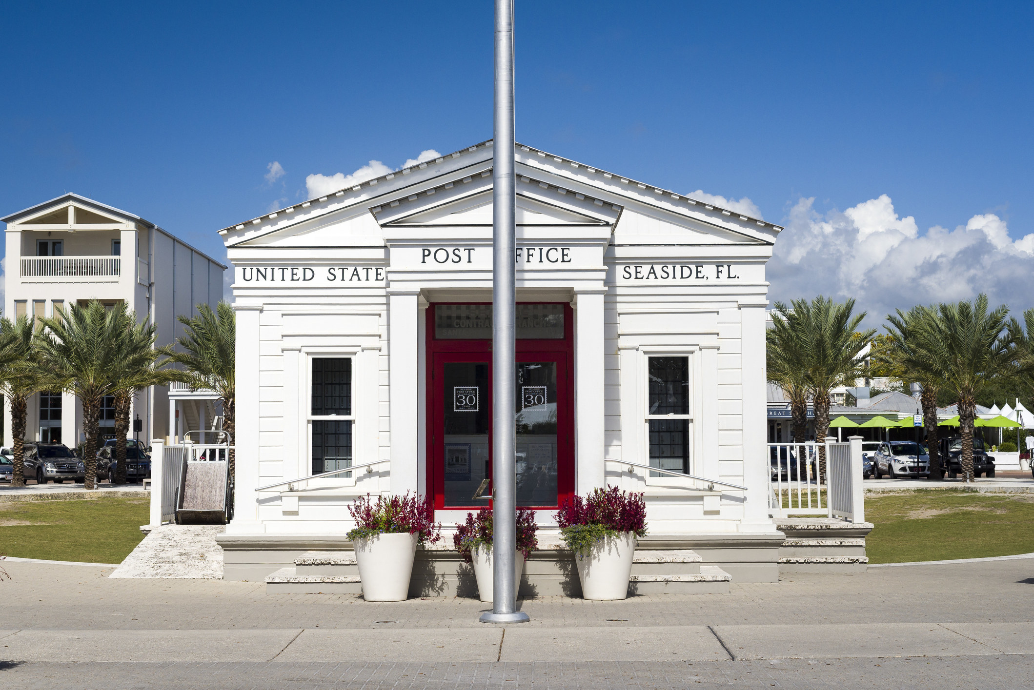 Photo of local post office in Seaside, Florida