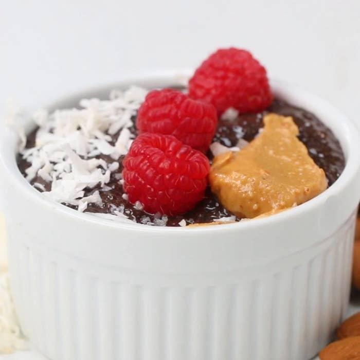 Cacao Chia Pudding