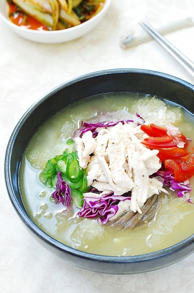 Chogyetang (Chilled Chicken Soup)