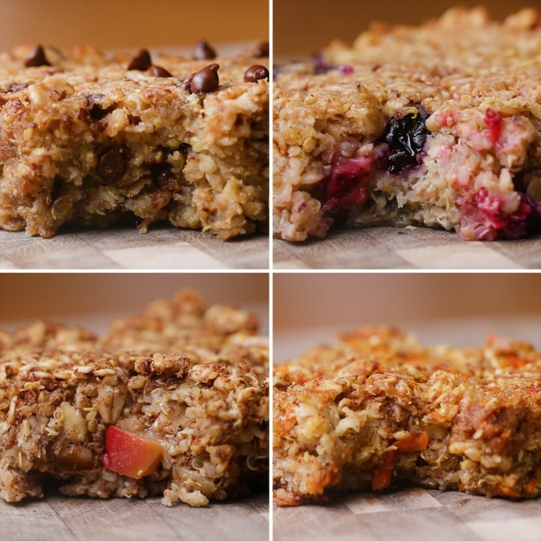 Protein Packed Breakfast Bars