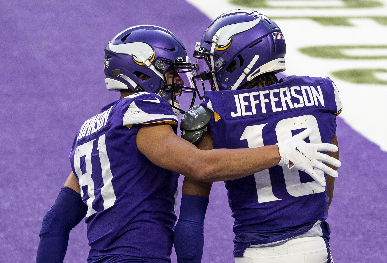 Purple Viking uniforms