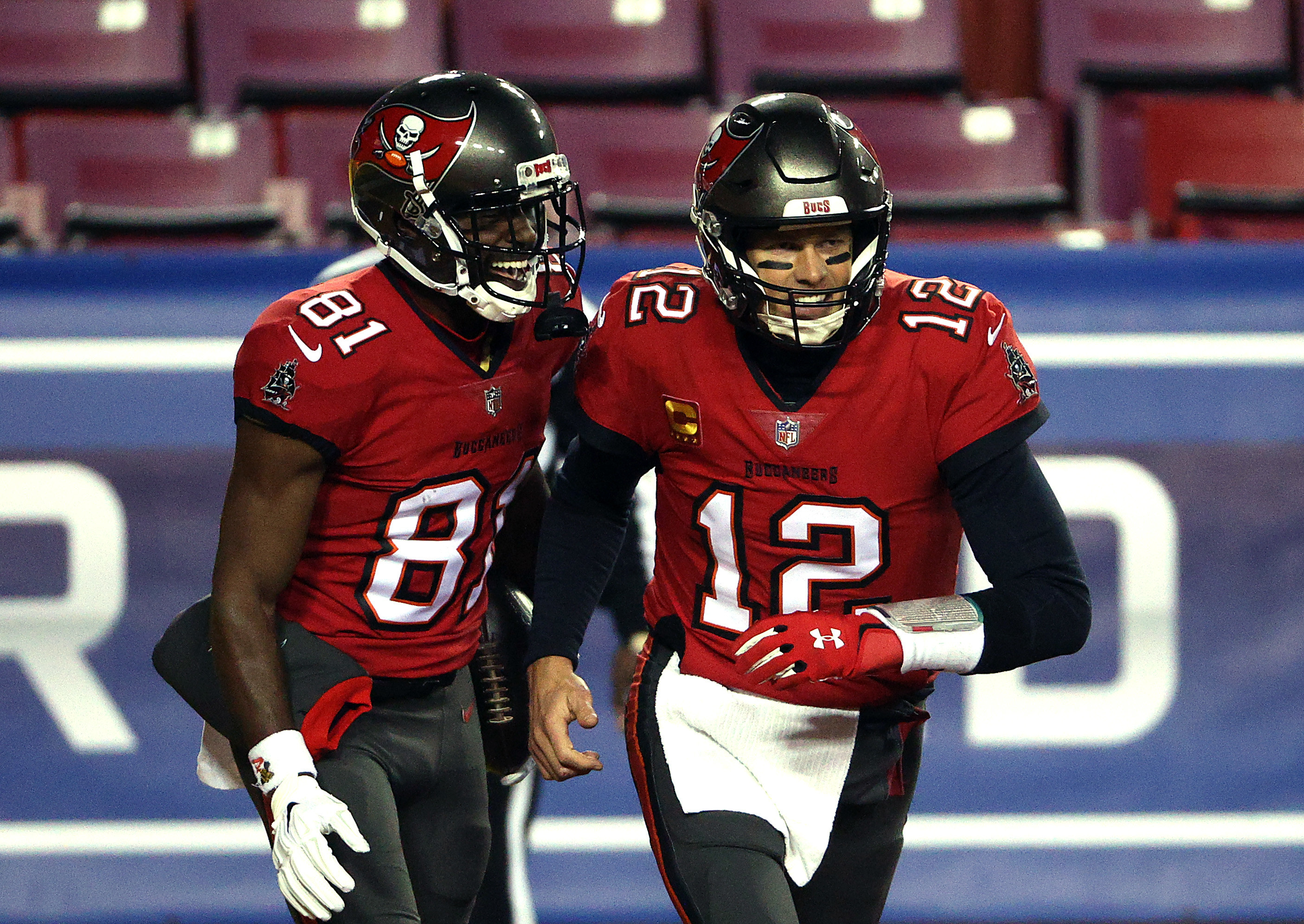 Black and red Buccaneer uniforms