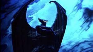 The demon Chernabog commanding dark forces from the Disney film Fantasia.