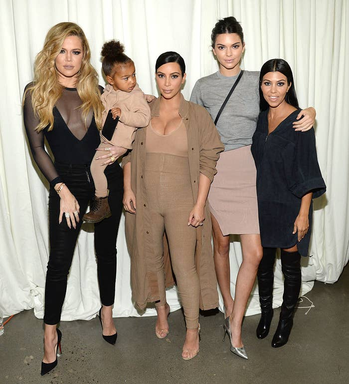 The Kardashian and Jenner sisters