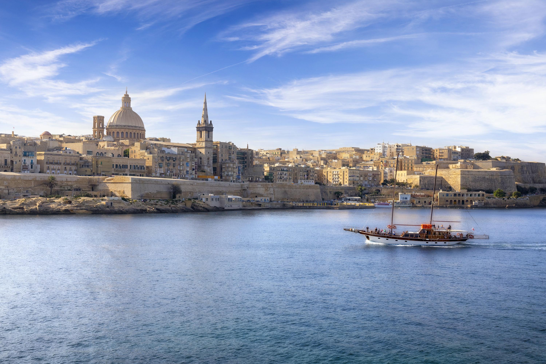An ocean view of Malta