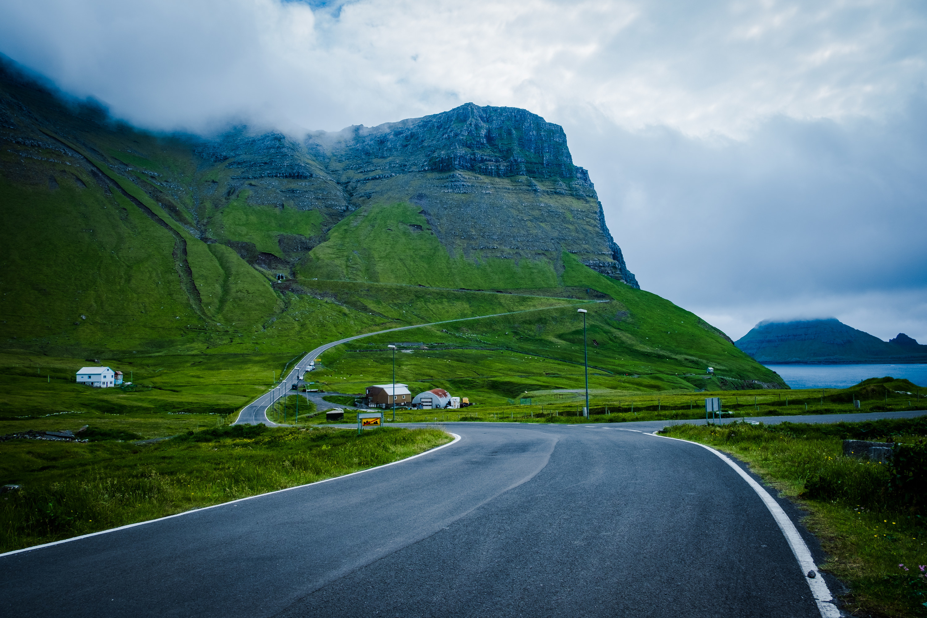 A road in Iceland
