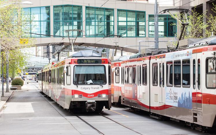 An image of Calgary Transit.