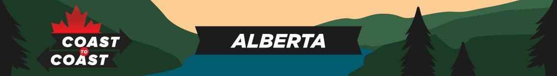 An Alberta coast to coast banner