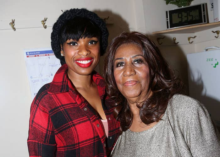 Jennifer and Aretha smiling for a photograph