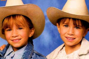 Mary-Kate and Ashely Olsen in How the West Was Fun