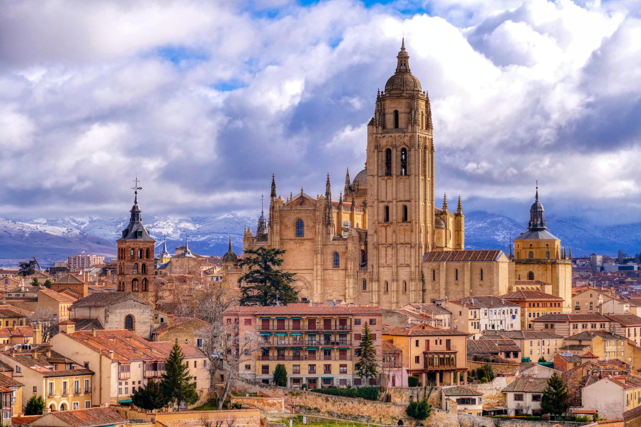An old castle in Segovia.