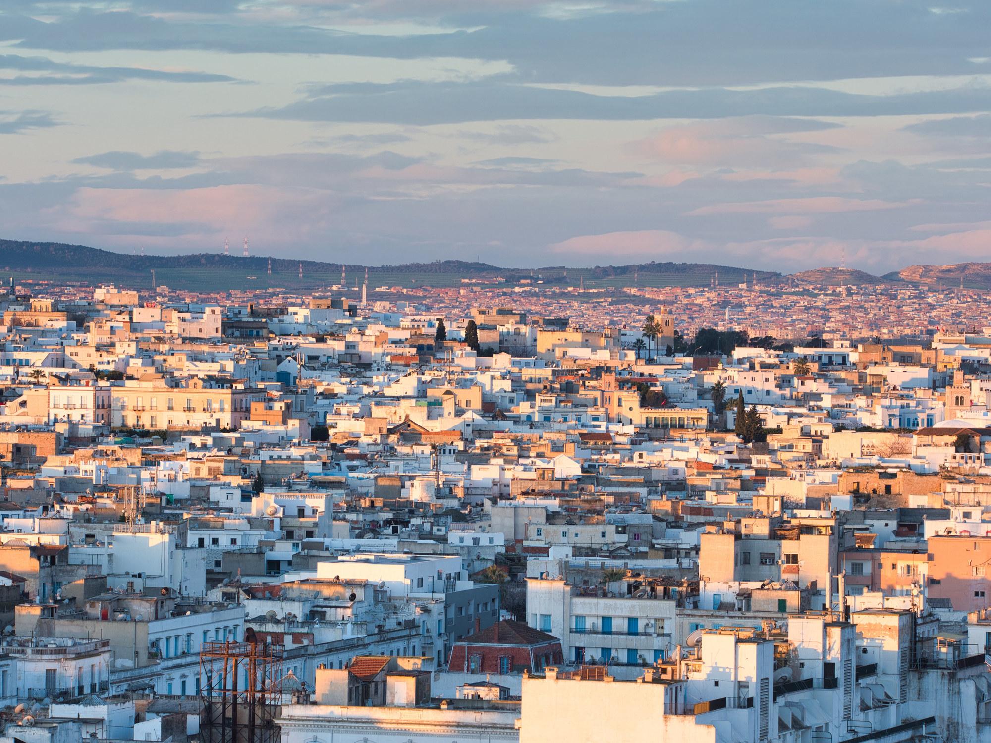 A city view in Tunisia.