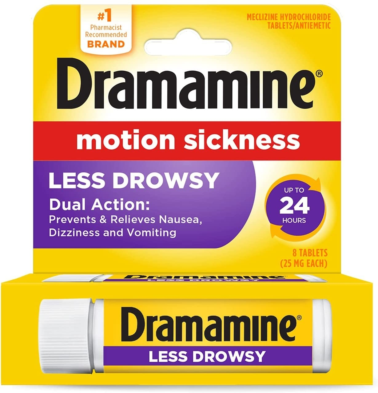 The dramamine package