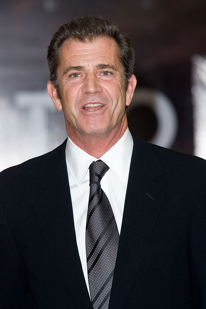 """Mel Gibson at the """"Apocalypto"""" Mexico City Premiere in 2007"""