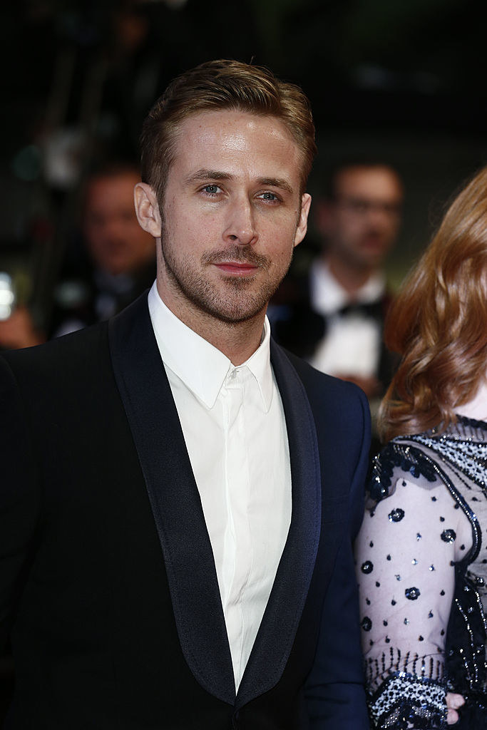 """Ryan Gosling attends the """"Lost River"""" premiere during the 67th Annual Cannes Film Festival on May 20, 2014"""