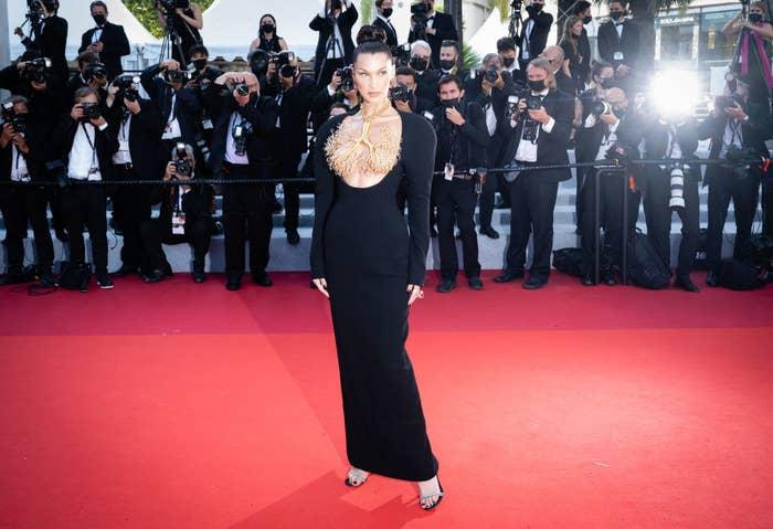 """Bella Hadid attends the """"Tre Piani (Three Floors)"""" screening"""