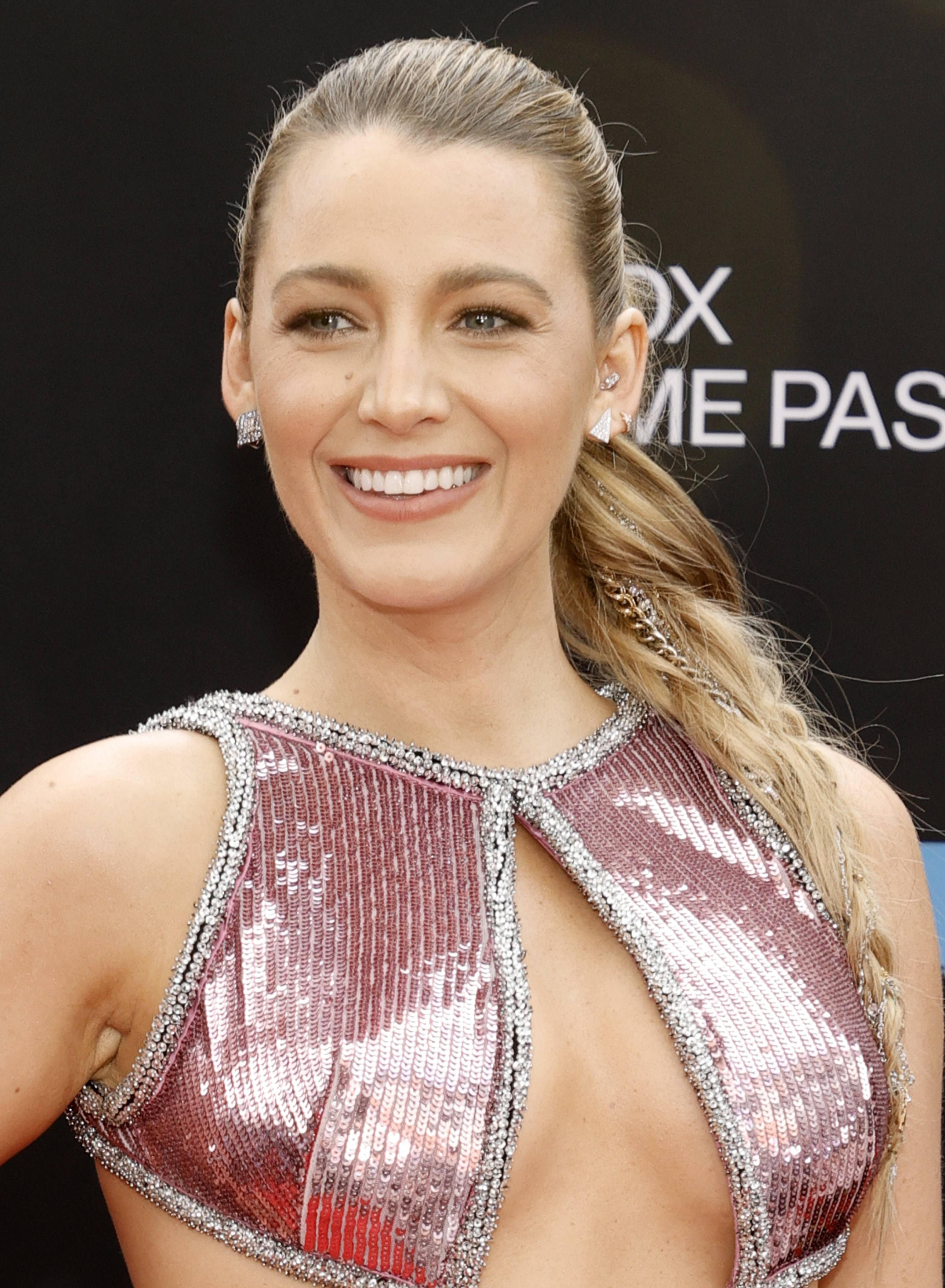 Blake Lively attends the Free Guy premiere in New York City