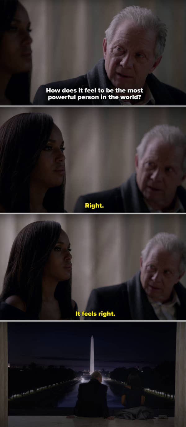 14. On Scandal, Olivia Pope altered herself and changed her entire personality, and in Season 6 became a power-hungry villain. This felt like a personal betrayal.