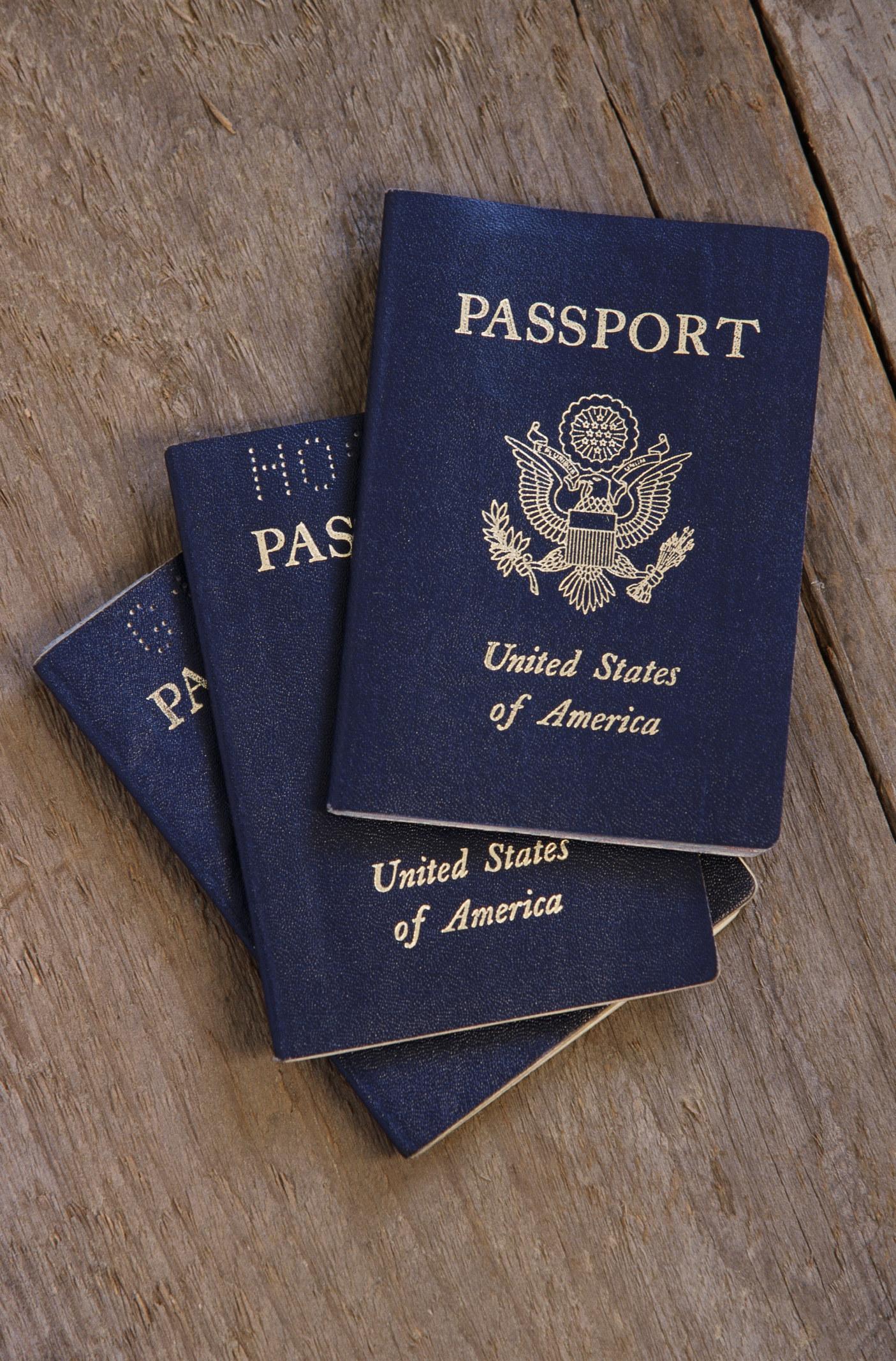 photo of passports