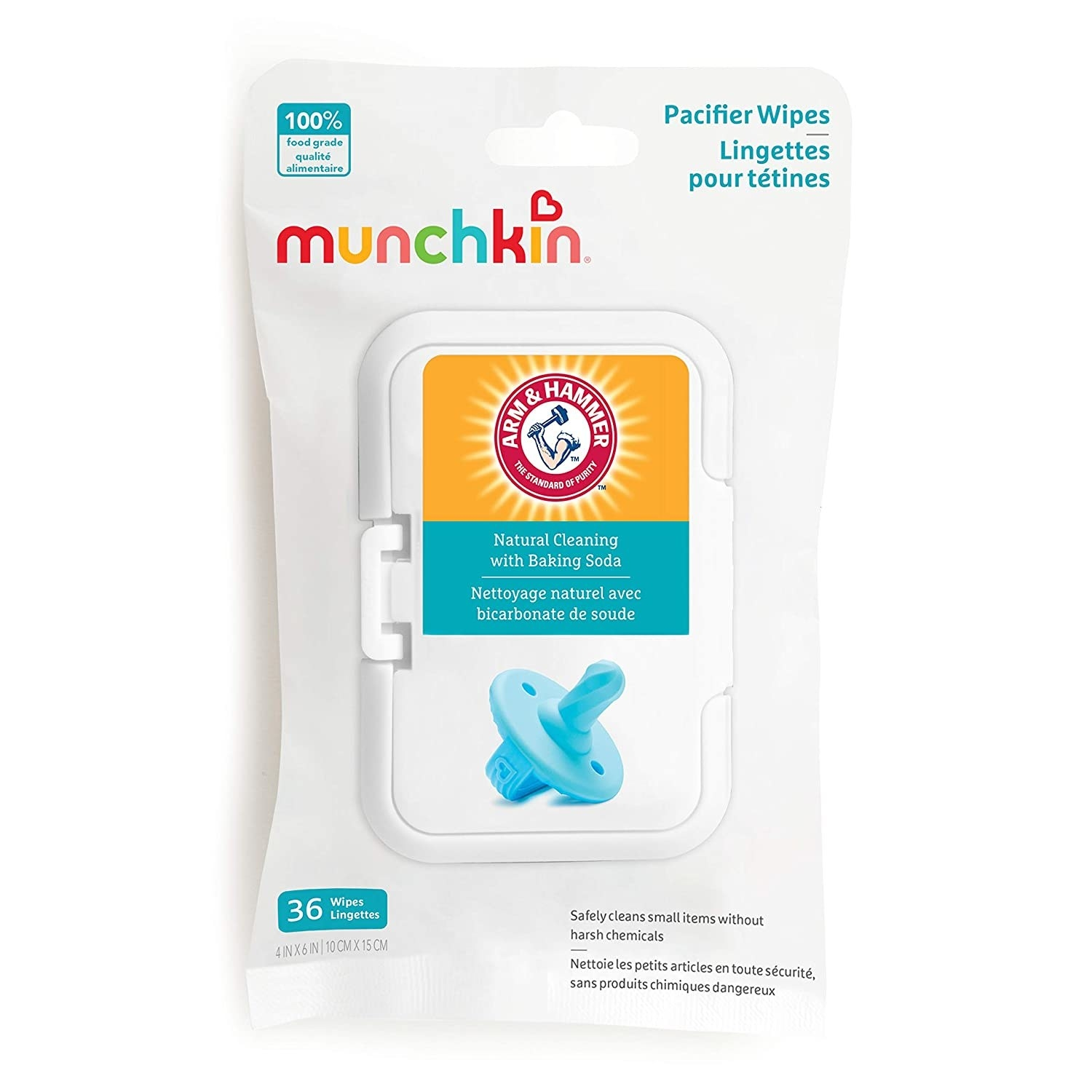 A pack of pacifier wipes