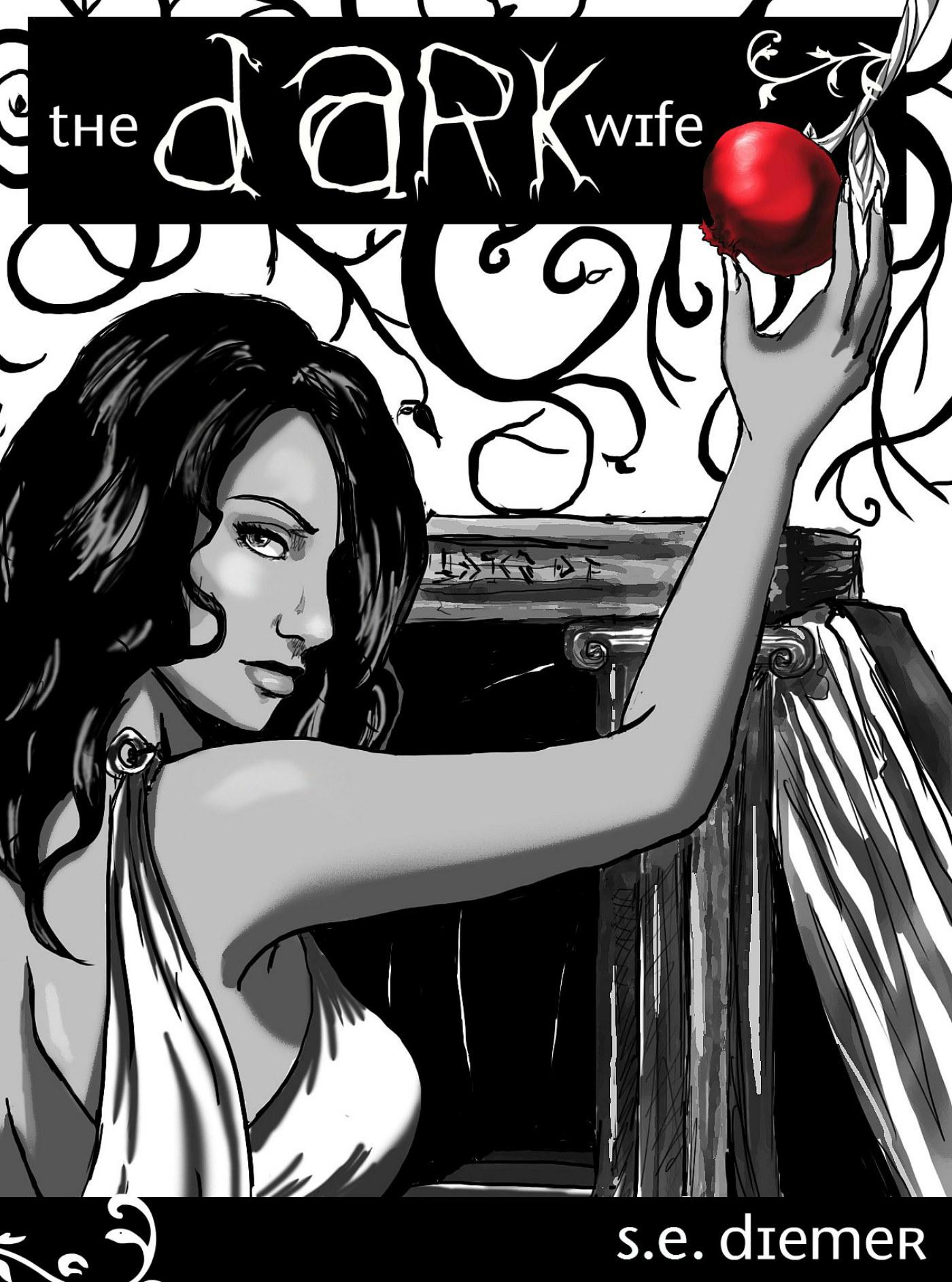 The Dark Wife cover. Book by Sarah Diemer.