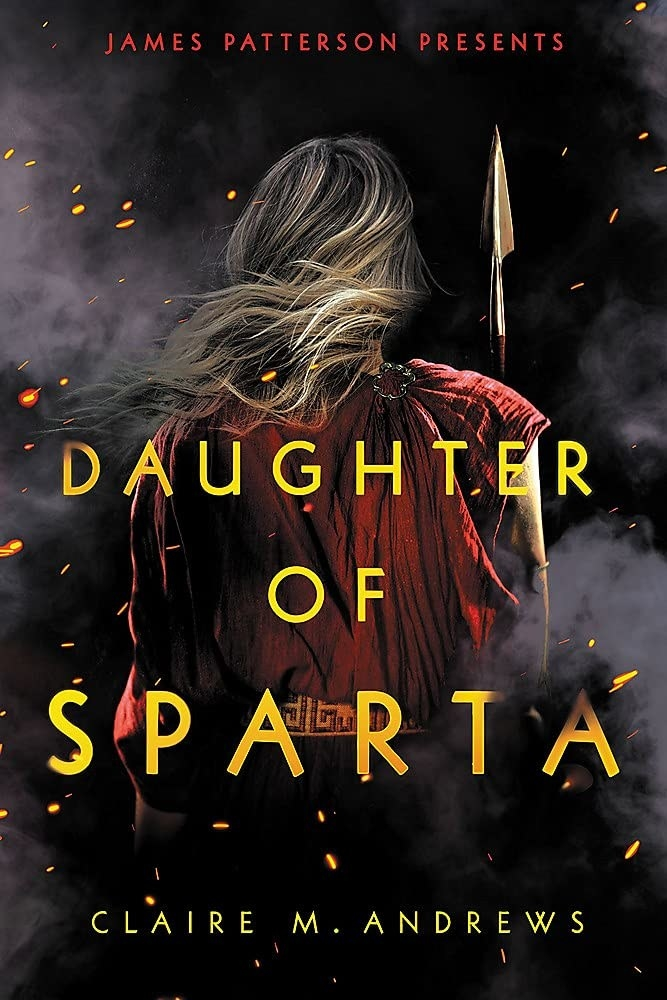 Daughter of Sparta cover. Book by Claire M. Andrews